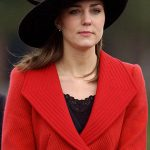 Kate attends Prince Williams passing out ceremony in 2006 wearing a Philip Treacy hat. Photo C GETTY