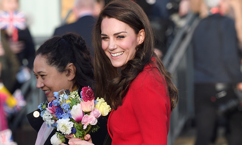 On Tuesday Kate attended a tennis engagement Photo C GETTY