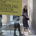 Kate was visiting The Foundling Hospital which was established in 1739 by the philanthropist Thomas Coram