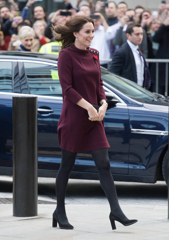 Kate is four months pregnant with her third child Photo C WIRTEIMAGE