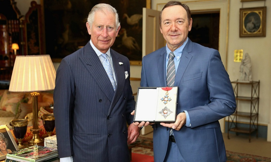 Kevin Spacey and Prince Charles Photo (C) GETTY IMAGES