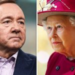 Kevin Spacey reportedly made a private visit to Buckingham Palace and sat on the Queen's throne Photo C GETTY