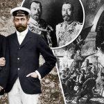 King George V and Russian Tsar Nicholas II had a close bond before the revolution Photo C GETTY