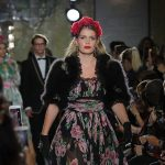 Kitty who appeared in Dolce Gabbanas Millennials campaign dazzled at the labels Italian Christmas runway show at Harrods on Thursday
