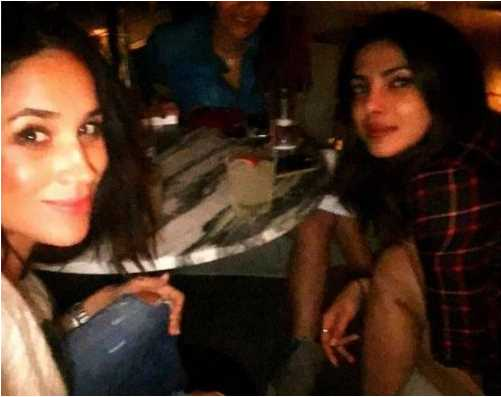 Meghan Markle Playing Cupid For Priyanka Chopra James Middleton Photo C MEGHAN MAKLE INSTAGRAM