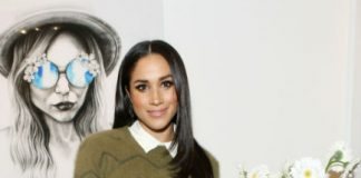 Meghan Markle arrived in London over the weekend Photo (C) GETTY