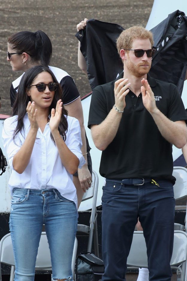 Meghan Markle is rumoured to be engaged to Prince Harry [Getty]