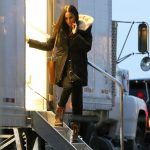 Meghan Markle on the set of 'Suits' in Toronto on November 12 2017. Photo C TheImageDirect com