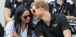 Meghan and Prince Harry made their first public appearance together in September Photo C GETTY