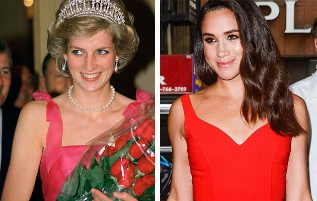 Meghan is following in Diana's footsteps. Photo Getty