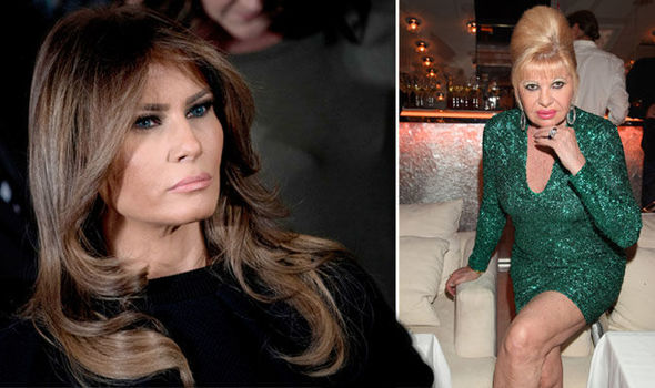 Melania Trump news Ivana Trump reignited the feud between herself and Melania during a TV interview Photo (C) GETTY IMAGES