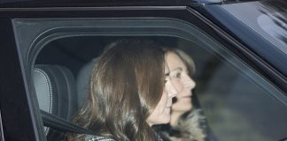Mother daughter time The Duchess of Cambridge 35 was spotted driving her mother Carole Middleton 62 out of Kensington Palace on Wednesday afternoon