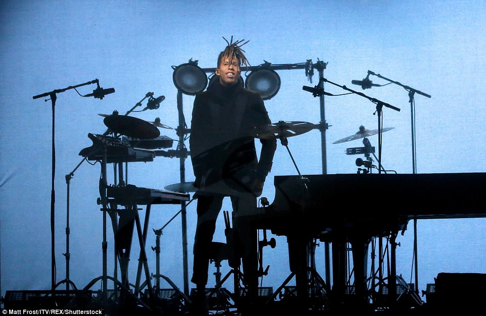 Musician Tokio Myers performed in front of the great and the good of Britain at the Royal Variety