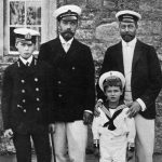 Nicholas II and his family were taken as prisoners and later murdered by the revolutionists Photo C GETTY