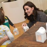 Once inside Kate met young children who had made their own lanterns and she was keen to hear all about them