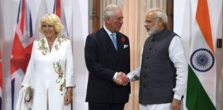 Prince Charles and his wife Camilla met Prime Minister Narendra Modi in Delhi this month his mother Queen Elizabeth has not made any long distance trips since 2011 Photo C AFP