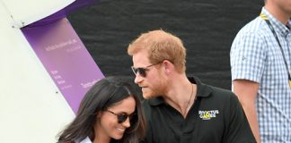 Prince Harry and Meghan Markle bought a Christmas tree from Pines and Needles in 2016 Photo C GETTY