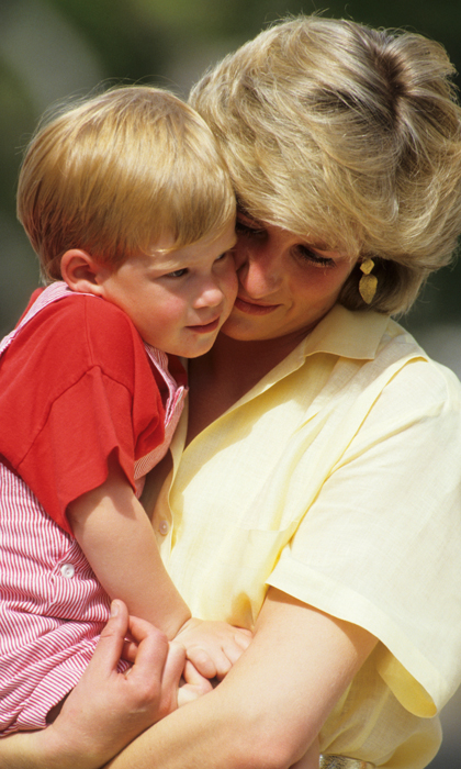 Prince Harry inherited a rare gift from his mother, Sir Elton John said Photo Georges De Keerle Getty Images