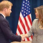 Prince Harry meets Melania Trump Photo C YOUTUBE