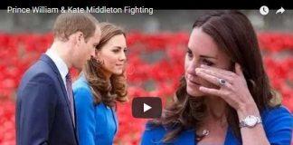 Prince William Kate Middleton Fighting