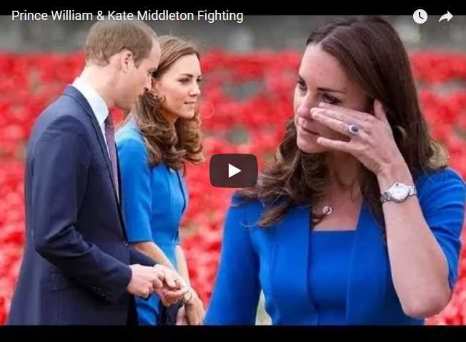 Prince William & Kate Middleton Fighting