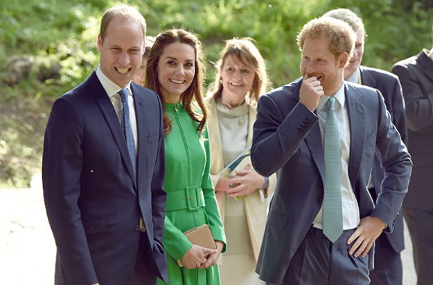 Prince William, Kate Middleton, and Prince William Photo (C) GETTY