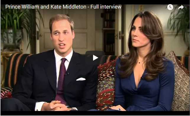 Prince William and Princess Kate made things official on November 16 2010