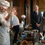 Prince William judged a cooking competition on Friday Photo C GETTY IMAGES