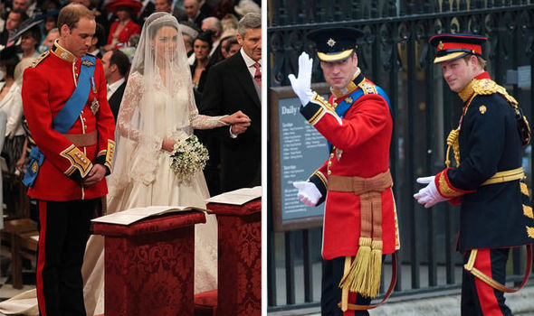 Prince William looked petrified on his wedding day to Kate Middleton according to a royal insider Photo C GETTY
