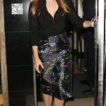 Princess Beatrice wore a striking pencil skirt Photo C GETTY