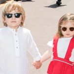 Princess Carolines grandchildren star in newly released photos for Baby Dior Photo C GETTY