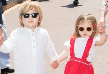 Princess Caroline's grandchildren star in newly released photos for Baby Dior Photo (C) GETTY