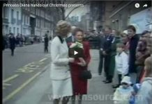 Princess Diana hands out ChrisPrincess Diana hands out Christmas presentstmas presents