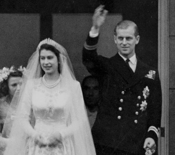 Queen and Prince Philip Celebrating their 70th wedding anniversary on Monday Photo (C) GETTY
