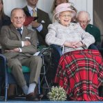 Queen and Prince Philip In image three the couple laugh at a shared joke Photo (C) GETTY