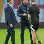 RELAXED Wills was in his element as his chatted to young coaches at Villa Park