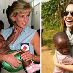 Shes a passionate humanitarian like Diana. Photo Getty and World Vision