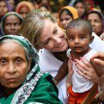 Sophie Wessex met with locals in Bangladesh this week Photo C GETTY