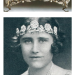Strathmore Rose tiara Queens Mother Favourite Tiara Photo C GETTY