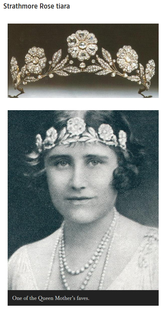 Teck Crescent tiara Photo C GETTY IMAGES
