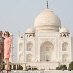 The Belgian monarchs who have four children are currently in India for a state visit