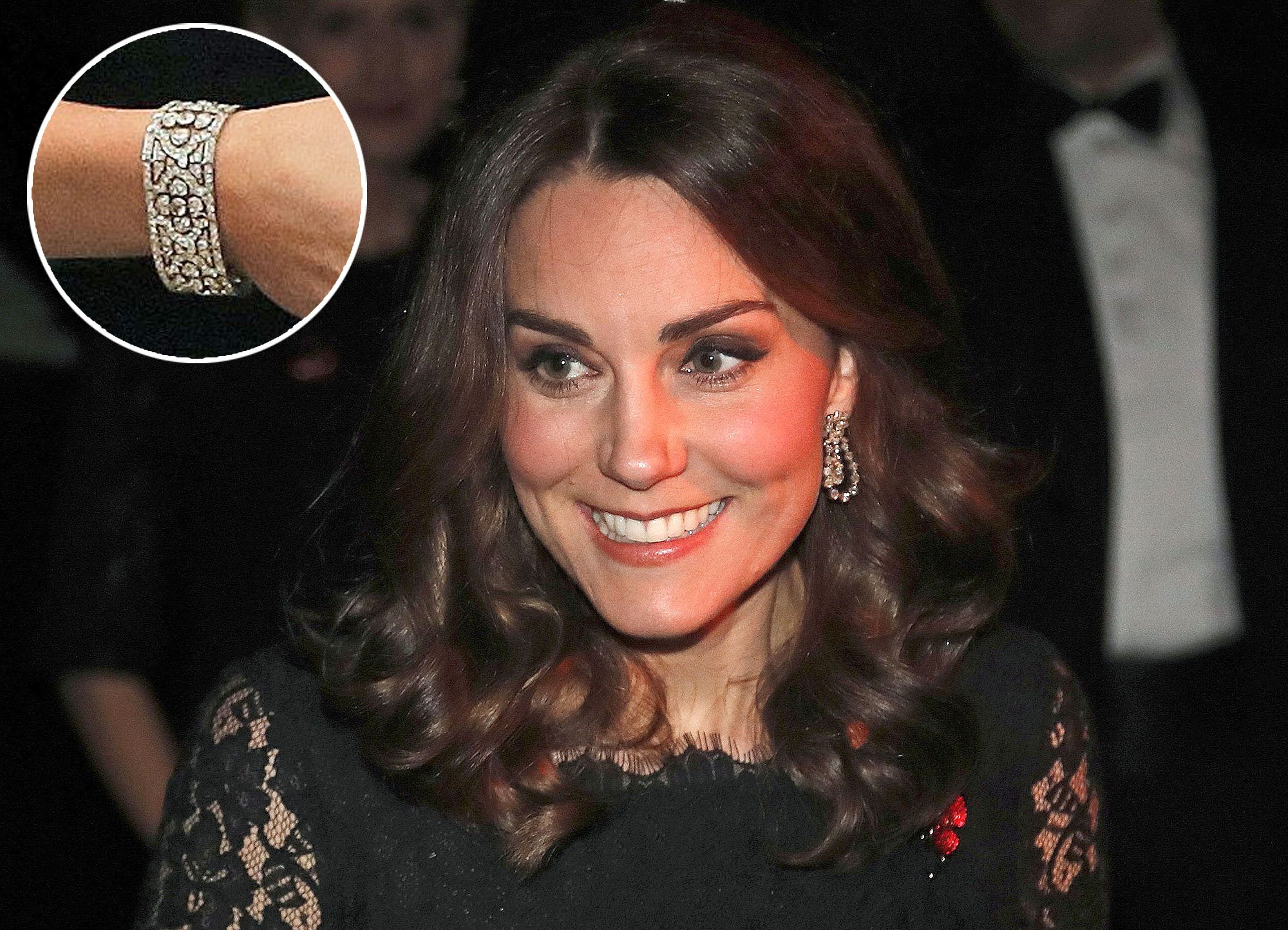 Britain's Catherine, Duchess of Cambridge smiles as she arrives to attend the 2017 Gala Dinner for The Anna Freud National Centre for Children and Families (AFNCCF), at Kensington Palace in London on November 7, 2017. During the Gala, The Duchess will attend a reception to hear more about this project and the work of the AFNCCF from those who are closely involved in the Charity. She will also meet with some of the charitys service users, including families who have benefitted from the work of the organisation. / AFP PHOTO / POOL / Frank Augstein (Photo credit should read FRANK AUGSTEIN/AFP/Getty Images) Britain's Catherine, Duchess of Cambridge speaks to Peter Fonagy, CEO of the Anna Freud Center at the 2017 Gala Dinner for The Anna Freud National Centre for Children and Families (AFNCCF), at Kensington Palace in London on November 7, 2017. During the Gala, The Duchess will attend a reception to hear more about this project and the work of the AFNCCF from those who are closely involved in the Charity. She will also meet with some of the charitys service users, including families who have benefitted from the work of the organisation. / AFP PHOTO / POOL / Frank Augstein (Photo credit should read FRANK AUGSTEIN/AFP/Getty Images)