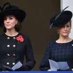 The Duchess of Cambridge and the Countess of Wessex attend a Remembrance Sunday service Photo C PA
