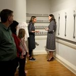 The Duchess of Cambridge was treated to a tour of the Foundling Museum in London on a chilly Tuesday