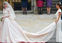 The Duchess of Cambridge's wedding dress maker talks creating the gown Photo (C) GETTY