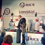 The Duke watches the @RICSnews and @LandAid cook-off at the launch of Pledge150.Photo (C) TWITTER KENSINGTON PALACE