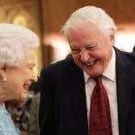 The Queen's typically unseen humour is exposed by the naturist Photo C GETTY