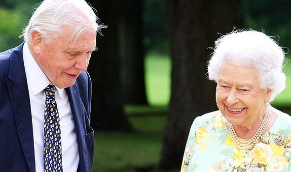 The Queen and David Attenborough are best friends in an upcoming royal documentary Photo C PA