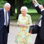 The Queen and David Attenborough feature in a new documentary Photo C PA