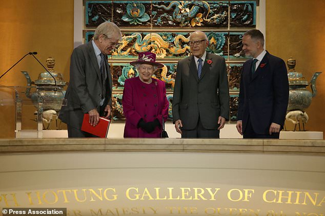 Queen reopens British Museum gallery 25 years after original unveiling